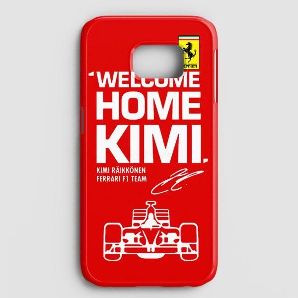 Kimi Raikkonen Welcome Home Ferrari F1 Team Samsung Galaxy Note 8 Case