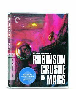 Amazon.com: Robinson Crusoe on Mars (The Criterion Collection) [Blu-ray]: Paul Mantee, Victor Lundin, Adam West, Mona, Byron Haskin: Movies & TV