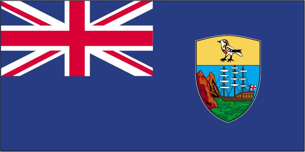 Country Flags: Saint Helena Flag