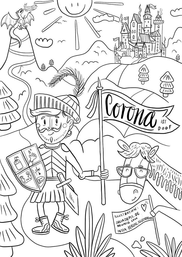 Malvorlagen Fur Kinder Gegen Den Corona Koller Newniq Interior Blog Design Blog In 2021 Malvorlagen Fur Kinder Kostenlose Malvorlagen Malvorlagen