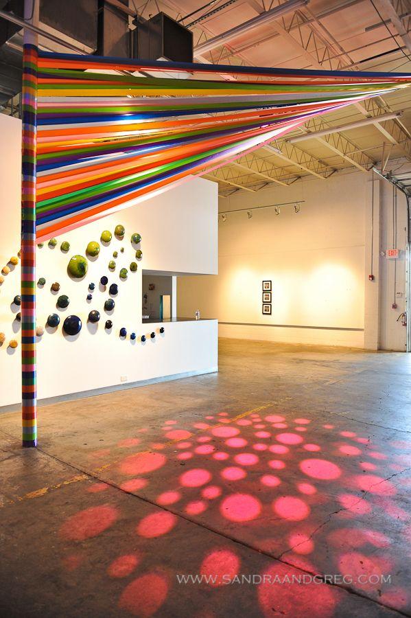 Microsoft Mason Murer Ribbon Treatment WM Events William Fogler Atlanta Corporate Event Designer Innovative