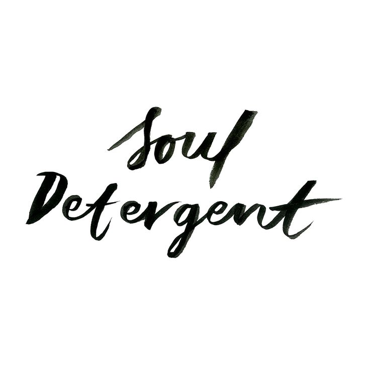 Soul detergent www.oddmolly.com