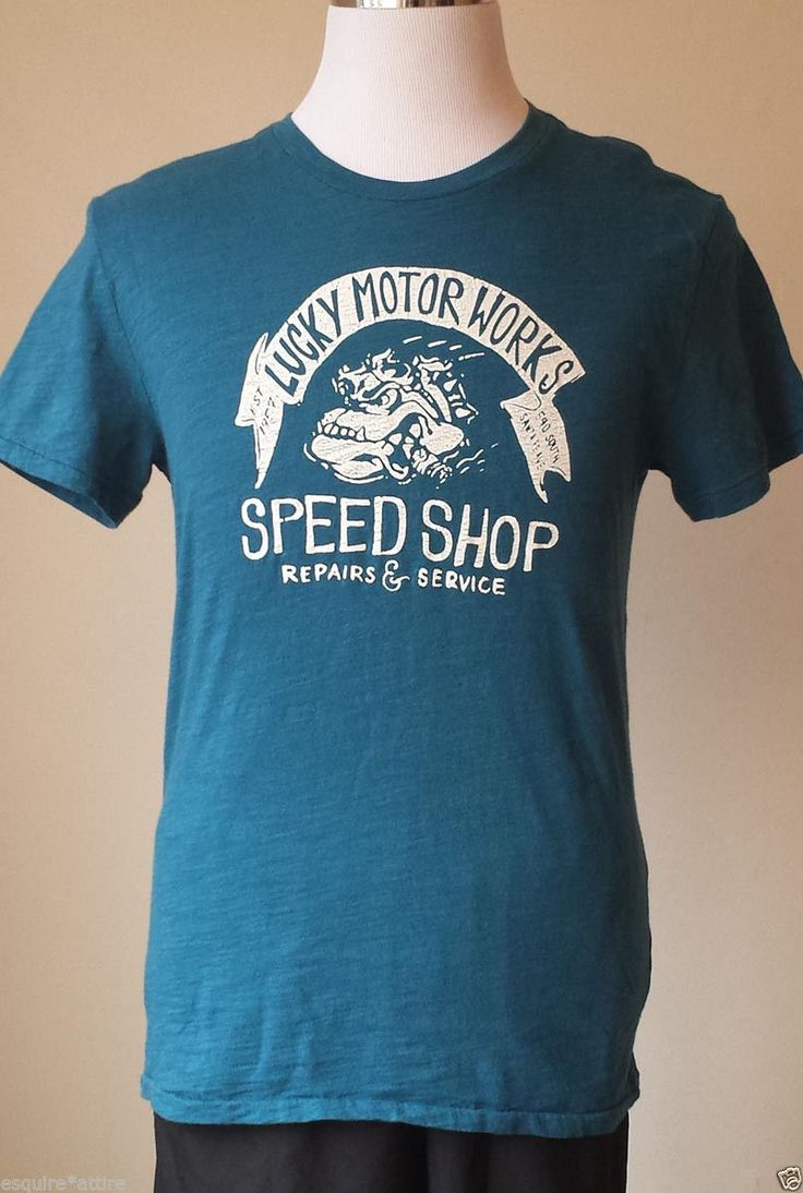 Design your own t shirt ebay - Lucky Brand Men Size S Graphic T Shirt Blue Color Nwt Visit Our Ebay