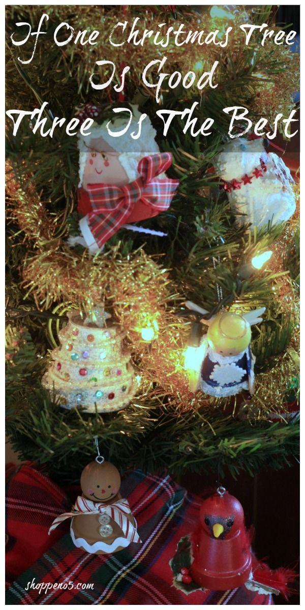 If One Christmas Tree Is Good Three