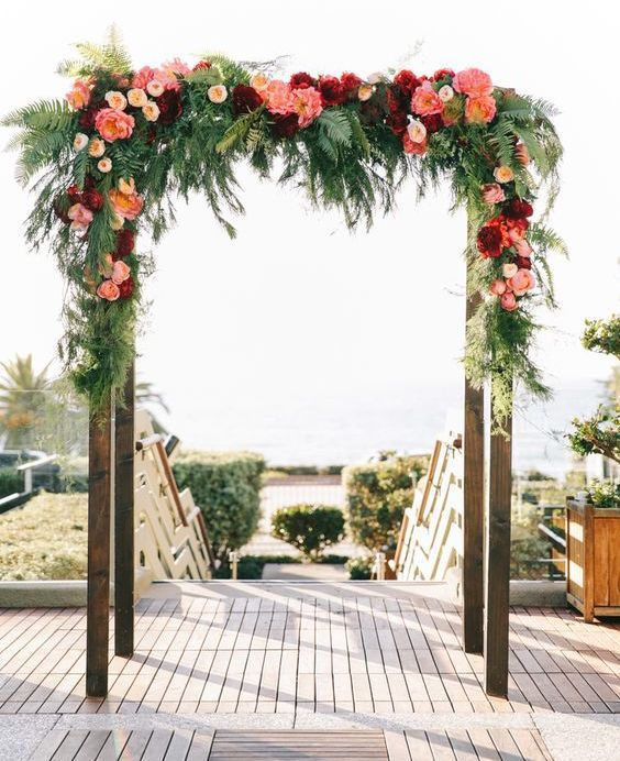 Altars Canopies Arbors Arches: 17 Best Images About Altares Para Boda On Pinterest