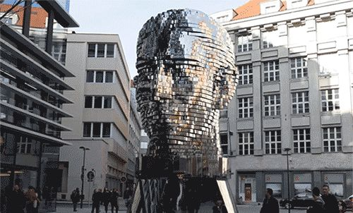 WATCH: A Rotating 42-Layer Sculpture of Franz... | Colossal