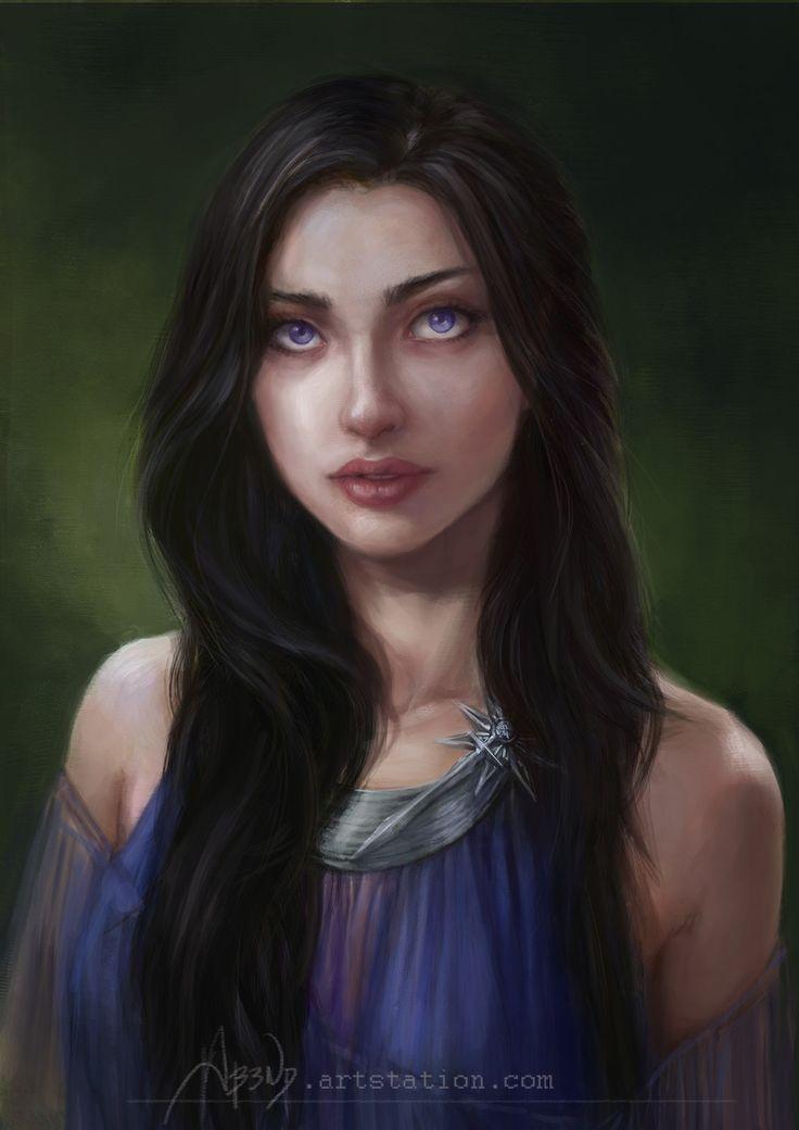 Ashara Dayne fue la hermana menor de Ser Arthur Dayne. Ashara es descrita como una mujer alta, de tez clara, con largo cabello oscuro y hechiceros ojos color violeta. Se le describe como una mujer extremadamente hermosa y se dice que muchos hombres estaban enamorados de ella, entre ellos Barristan Selmy y Eddard Stark.