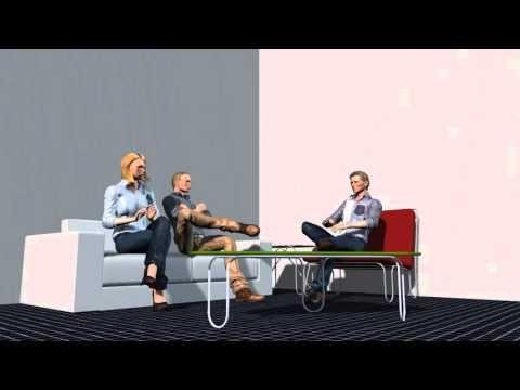 переговоры затянулись, анимация 3d, HD, видео, высокое качество