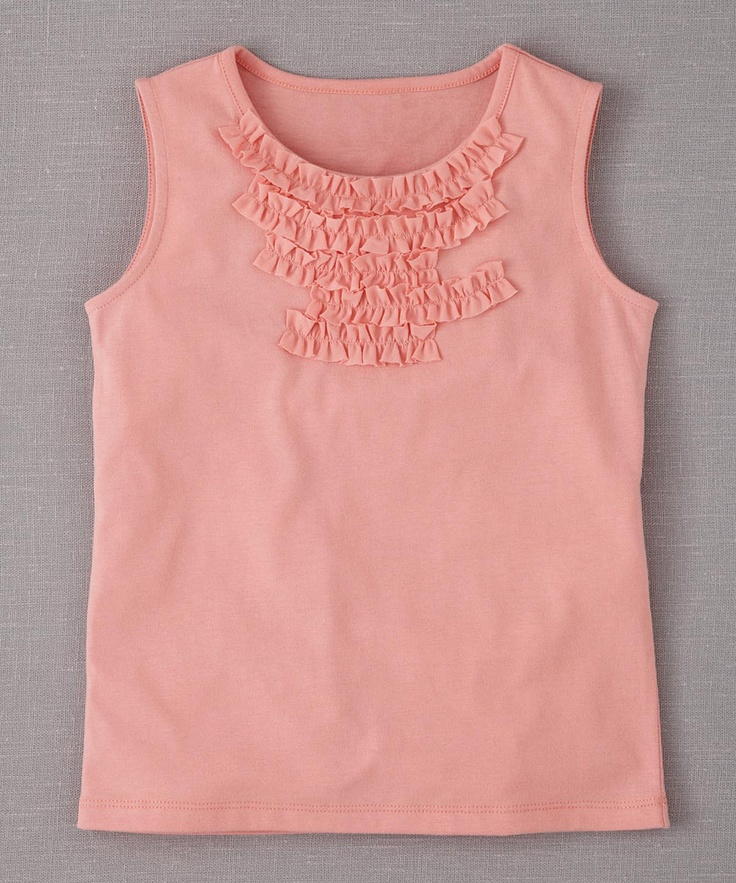 English Rose Ruffle-Trim Tank - Infant, Toddler & Girls | Daily deals for moms, babies and kids