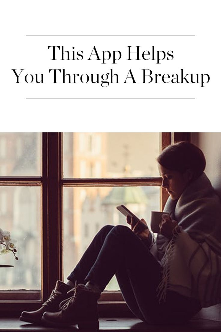 An app that helps you heal after a breakup? Here's how it works.