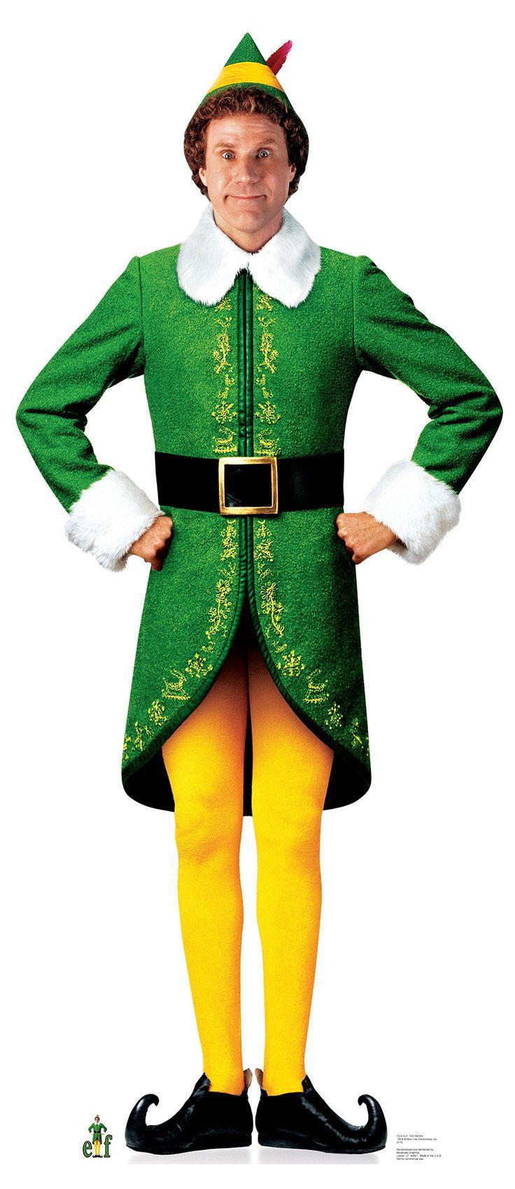 Advanced Graphics Elf Movie Elf Cardboard Stand Up Buddy The Elf Costume Elf Movie Buddy The Elf