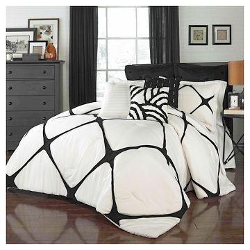 Cersei Fashion Comforter Set King Ivory 3 Piece - Vue®