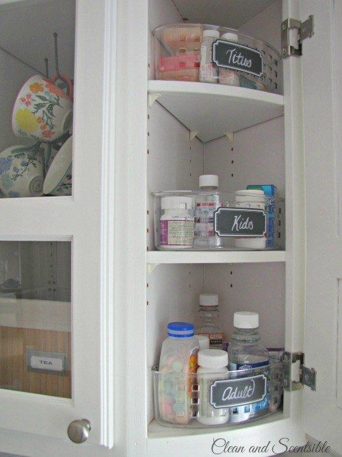 Keep adult, child, and pet medications in separate containers. | 37 Insanely Clever Organization Tips To Make Your Family's Lives Easier