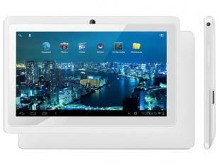 "Tablet Phaser PC713 4GB Tela 7"" Wi-Fi - Android 4.0 Proc. Dual Core Câmera Frontal"