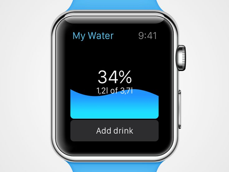 «My Water» for Apple Watch