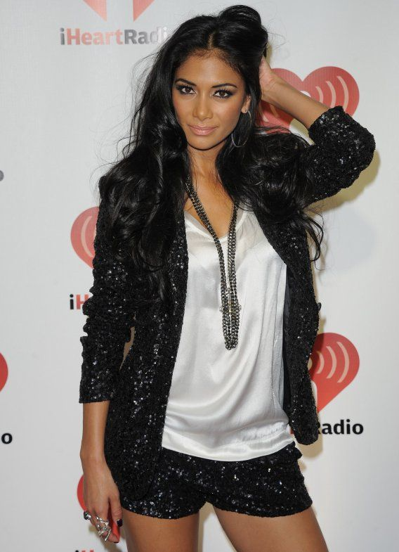 matching shorts and blazer | Nicole Scherzinger Dons Sequin Shorts Suit - Nicole Scherzinger ...