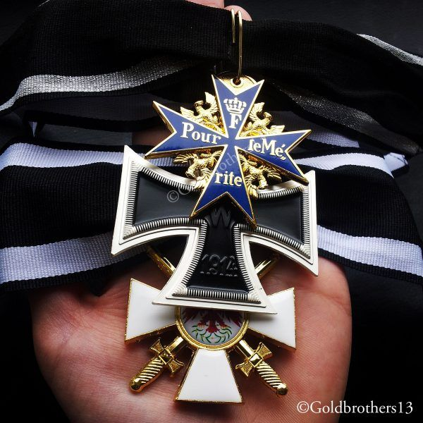 Pour Le Merite Grand Cross of the German Cross & Red Eagle
