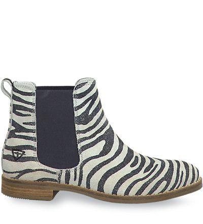 Tamaris schuhe zebra