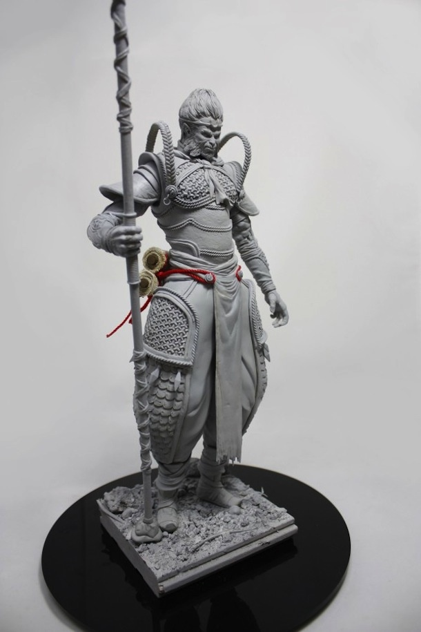 skillful sculpture of MONKEY KING from shenzhen based designer XIONG PIPI