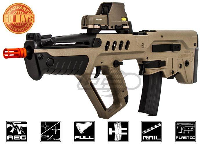 Elite Force IWI Competition Tavor TAR-21 AEG Airsoft Gun ( Dark Earth )