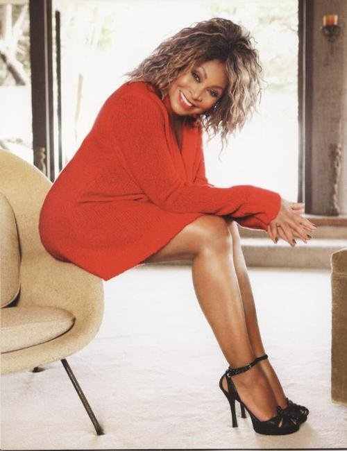 Tina Turner - 70 is the new 50 70? Get. Out. I wish my legs looked that good…