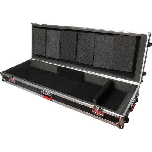 Gator Cases G-Tour ATA Wood Flight Case for 88-Note Slim Keyboards (Black)