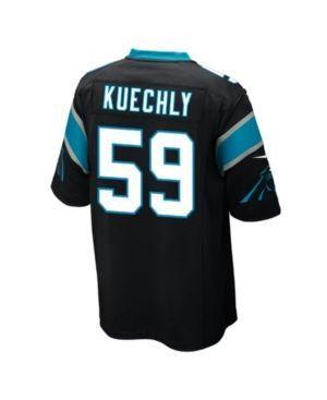 Nike Men's Luke Kuechly Carolina Panthers Game Jersey - Black XXL