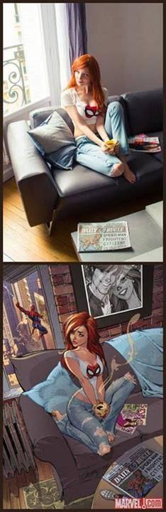 Mary Jane Spiderman Cosplay