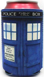 Doctor Who Tardis Can Koozie - YES please!!