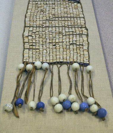 Sacred Artifacts Returned to Onondaga Nation - Among them a wampum belt made by Six Nations artisans, dating to at least 1800