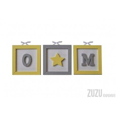 tabliczki z literkami, obrazki 3D