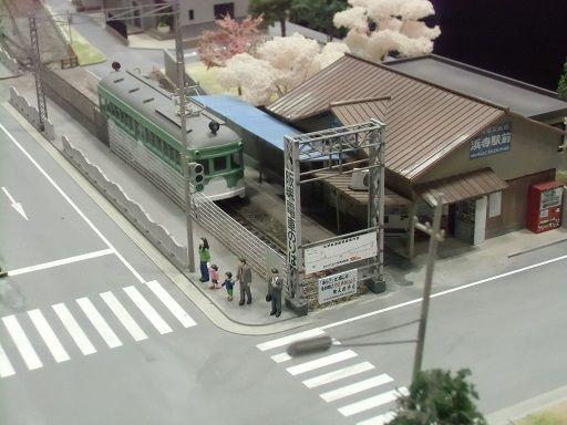 浜寺公園駅 Nゲージレイアウト