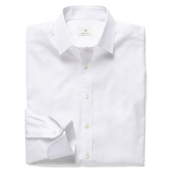GANT Diamond G Dobby Textured Fitted Shirt 380002