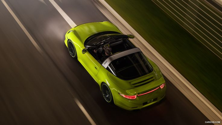 2015 TECHART Porsche 911 Targa 4 Wallpaper