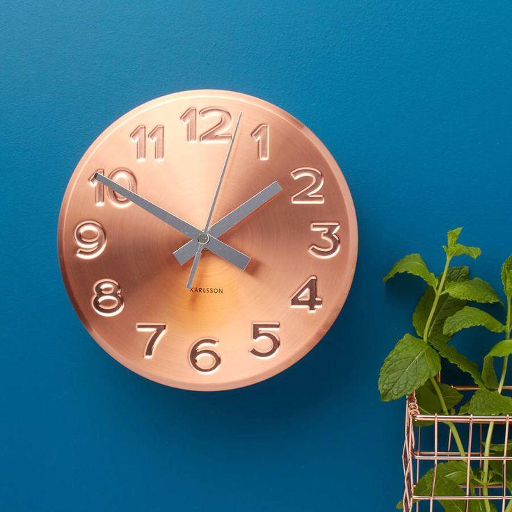 I've just found Copper Wall Clock. Copper wall clock. £45.00