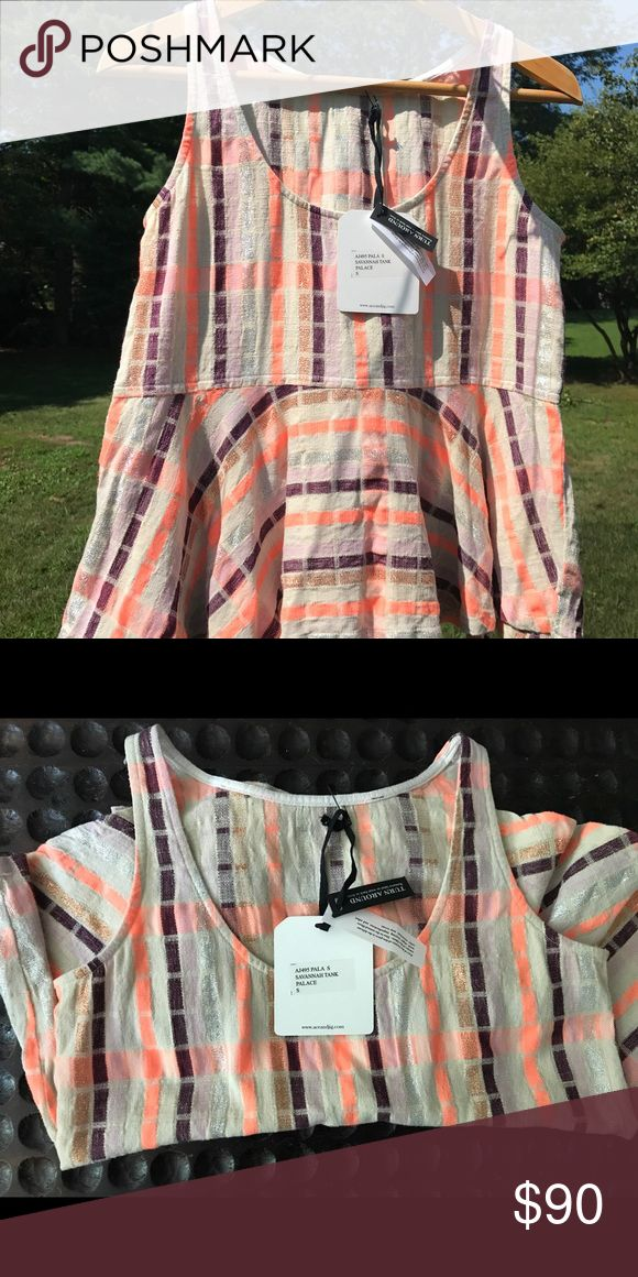 Ace & Jig Savannah Tank in Palace Brand new with tags, never worn! Ace & Jig garment tag was removed for turnaround. Ace & Jig Tops Tank Tops