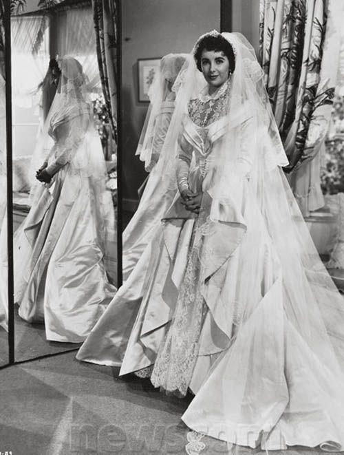 Pin by wanda j on miss elizabeth pinterest for Elizabeth taylor wedding dress