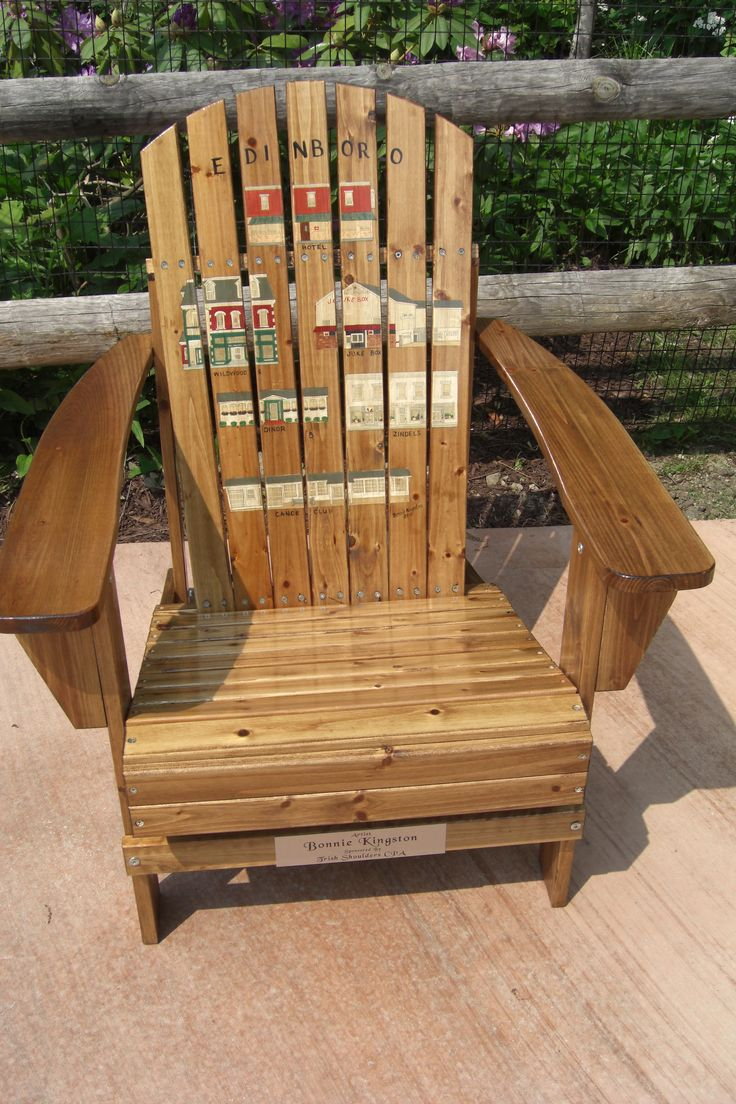 21 Best Images About Painted Adirondack Chairs On