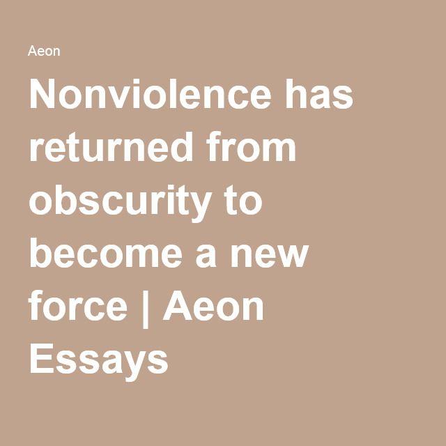 Power of nonviolence essay