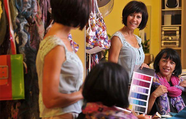 Как определить свой цветотип: советы стилиста #burdastyle #burda #мода #fashion