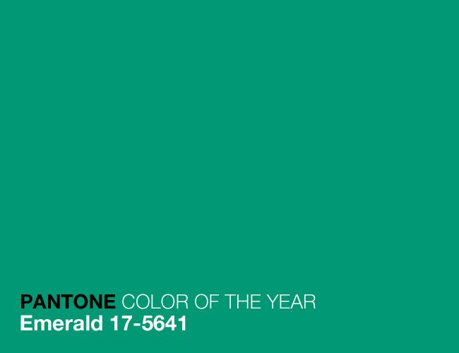 Colour of the year 2013 Emerald 17-5641