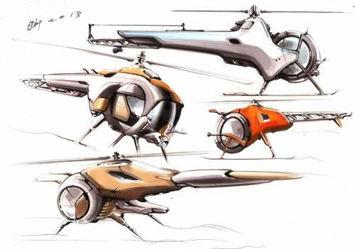 Future Copter sketch-off