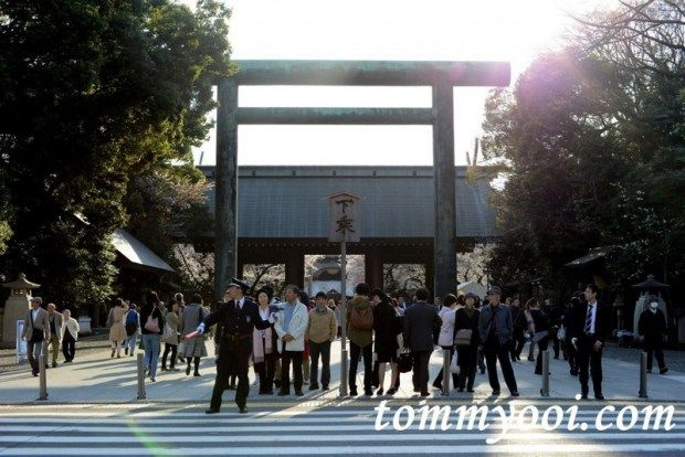 15 must visit tokyo attractions & travel guide - 9. Yasukuni Shrine