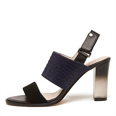 Sporto Heeled Sandal #mimcomuse