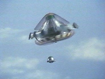 UFO TV show. Again -- a perfect example of how the show and the acting were simply awful -- but the models (including the titillatingly-dressed real women) were incredible eye-candy for the imagination.