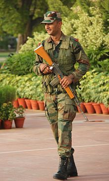 1B1 INSAS Assault rifle modern weapon