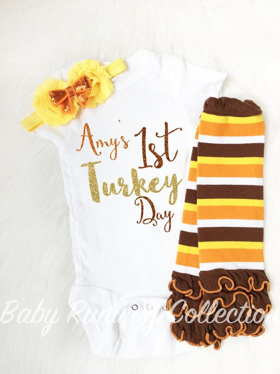 Thanksgiving Bodysuit - Thanksgiving Outfit - Baby's First Thanksgiving - Cute Thanksgiving Outfit- Thanksgiving Outfit - Baby Shower Gift