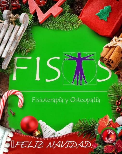 ¡¡ Fisioterapia FISOS Móstoles os desea FELIZ NAVIDAD !!