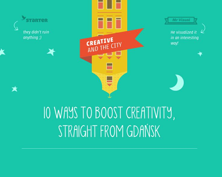 10 ways to boost creativity, straight from Gdansk