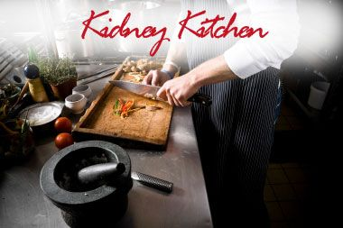 The National Kidney Foundation's kidney-friendly recipes and health tips for those with kidney disease, those on dialysis, and individuals with hypertension and diabetes.